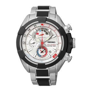 Seiko Men's SPC145P1 Velatura Silver Watch