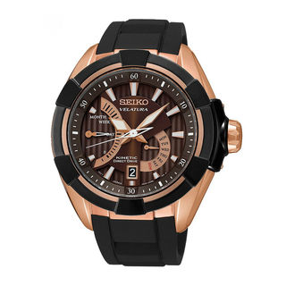 Seiko Men's SRH020P1 Velatura Brown Watch