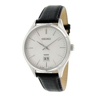 Seiko Men's SUR019P2 Neo Classic White Watch