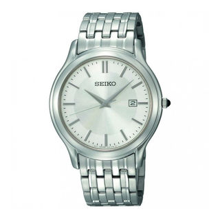 Seiko Men's SKK703P1 Precisely Silver Watch