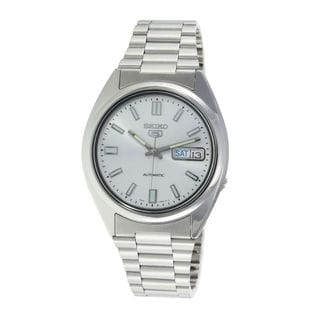 Seiko Men's SNXS73J1 5 Silver Watch