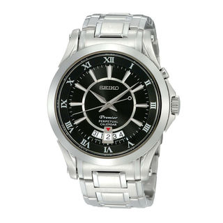 Seiko Men's SNQ103P1 Premier Black Watch