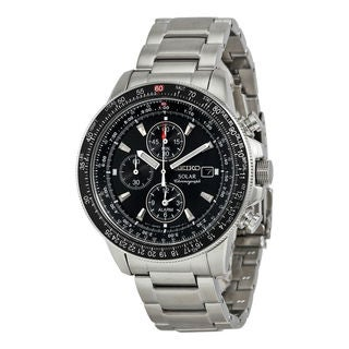 Seiko Men's SSC009P1 Prospex Black Watch