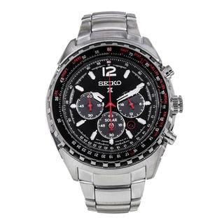 Seiko Men's SSC261P1 Prospex Black Watch