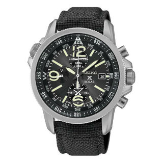 Seiko Men's SSC293P2 Prospex Black Watch
