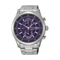 Seiko Men's  Chronograph Blue Watch