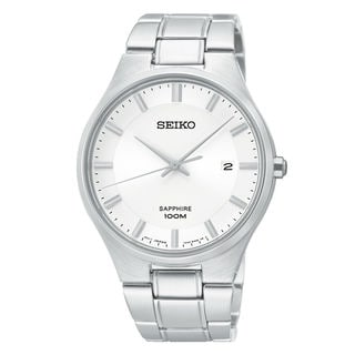 Seiko Men's SGEH27P1 Sports Silver Watch