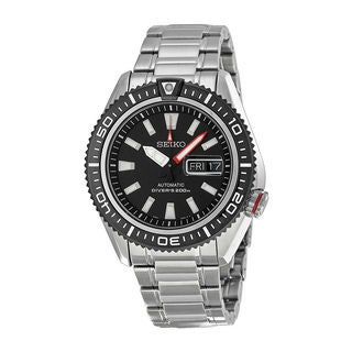 Seiko Men's SRP495K1 Diver Black Watch