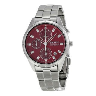 Seiko Men's SNDX49P1 Dress Red Watch