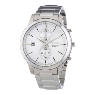 Seiko Men's SNN271P1 Dress Silver Watch