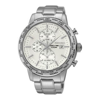 Seiko Men's SPL047P1 Dress Silver Watch