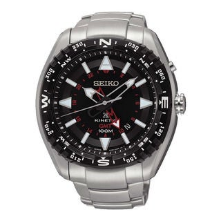 Seiko Men's SUN049P1 Prospex Black Watch
