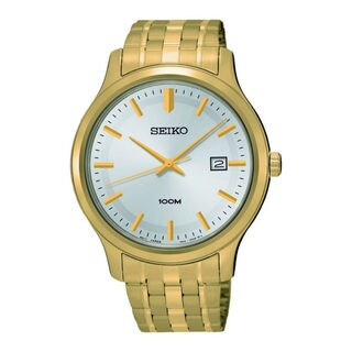 Seiko Men's SUR148P1 Neo Classic Silver Watch