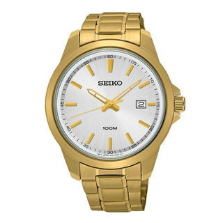 Seiko Men's SUR158P1 Neo Classic Silver Watch