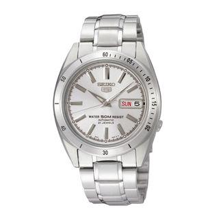 Seiko Men's SNKF47K1 5 Sports Silver Watch