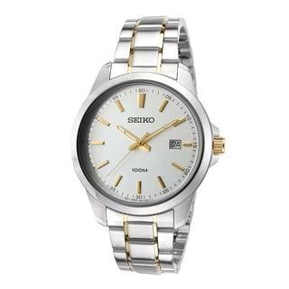 Seiko Men's SUR157P1 Classic Silver Watch