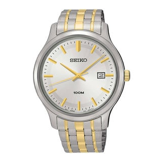 Seiko Men's SUR147P1 Neo Classic Silver Watch