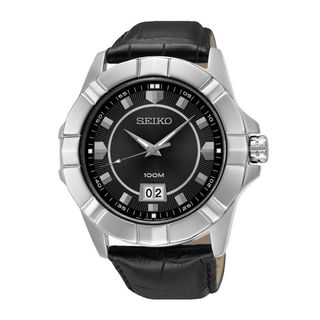 Seiko Men's SUR131P1 Lord Black Watch