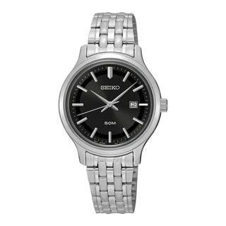 Seiko Men's SUR795P1 Classic Black Watch