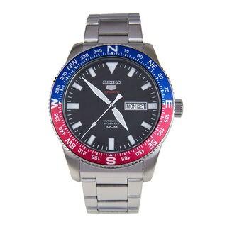 Seiko Men's SRP661K1 5 Sports Black Watch