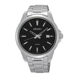 Seiko Men's SUR155P1 Neo Classic Black Watch