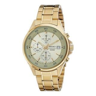 Seiko Men's SKS482P1 Chronograph Gold Watch