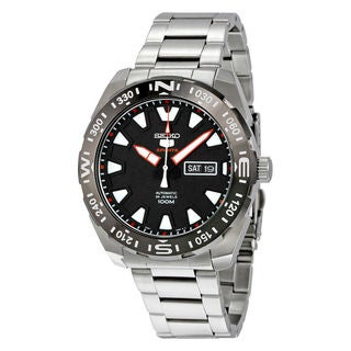 Seiko Men's SRP743K1 5 Sports Black Watch