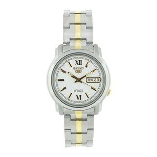 Seiko Men's SNKK83K1 5 White Watch
