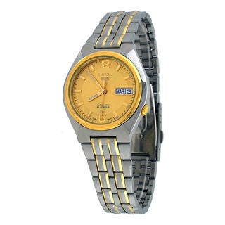 Seiko Men's SNKL62K1 5 Gold Watch