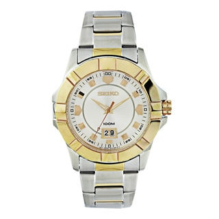 Seiko Men's SUR134P1 Lord Silver Watch