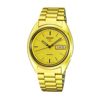 Seiko Men's SNXL72K1 5 Gold Watch