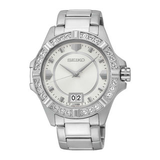 Seiko Women's SUR809P1 Lord Silver Watch