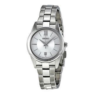 Seiko Women's SXDC77P1 Neo Classic Silver Watch