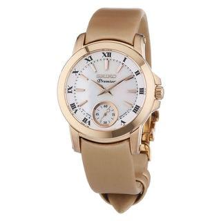 Seiko Women's SRKZ62P1 Premier Pearl Watch