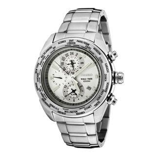 Seiko Men's SPL029P1 Premier White Watch