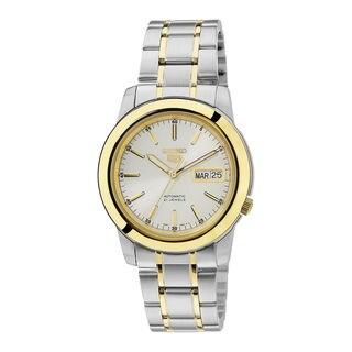 Seiko Men's SNKE54K1 5 White Watch