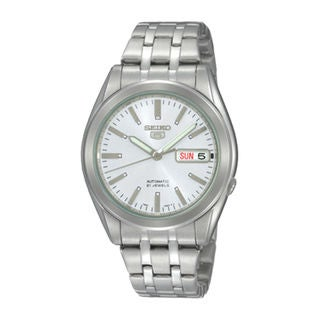 Seiko Men's SNKG93K1 5 White Watch