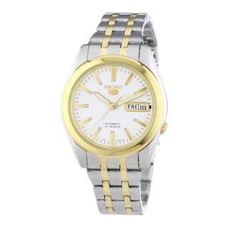 Seiko Men's SNKG98K1 5 White Watch