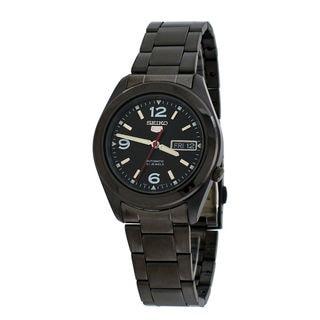 Seiko Men's SNKM79J1 5 Black Watch