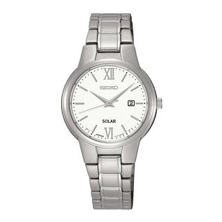 Seiko Women's SUT227P1 Solar White Watch