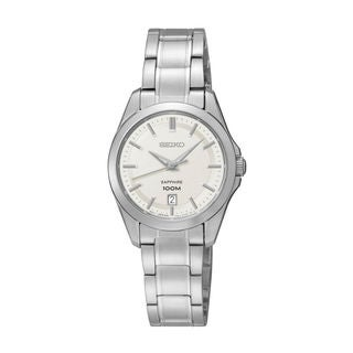 Seiko Women's SXDF55P1 Classic White Watch