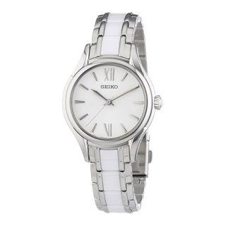 Seiko Women's SRZ395P1 Conceptual Silver Watch