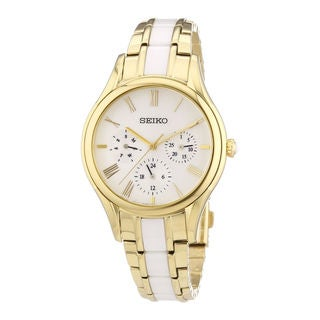 Seiko Women's SKY718P1 Dress Beige Watch