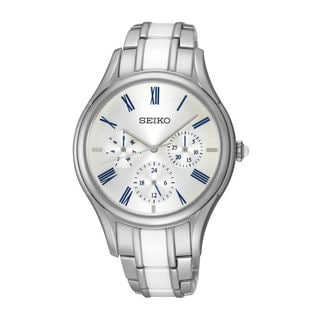 Seiko Women's SKY721P1 Dress Silver Watch