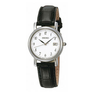 Seiko Women's SXDA13P1 Dress White Watch
