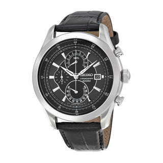 Seiko Men's SPC167P2 Chronograph Black Watch