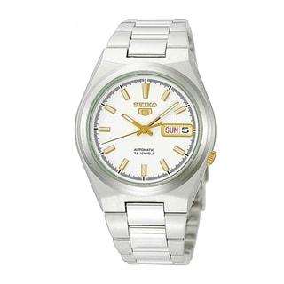 Seiko Men's SNKC47J1 5 White Watch