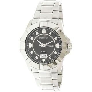 Seiko Men's SUR129P1 Lord Black Watch
