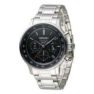 Seiko Men's SSB165P1 Conceptual Black Watch