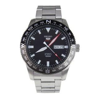 Seiko Men's SRP669K1 5 Sports Black Watch